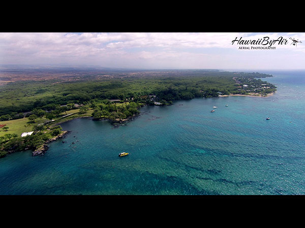 Aerial drone photography of Puako on the Big Island of Hawaii Wedding Drone Real Estate