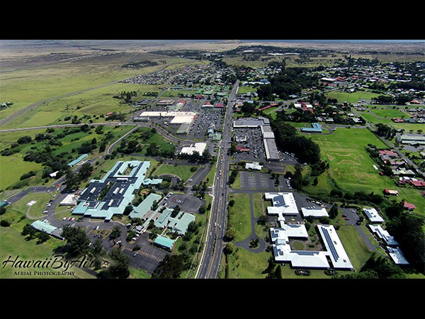Aerial drone photography of Kamuela on the Big Island of Hawaii Wedding Drone Real Estate